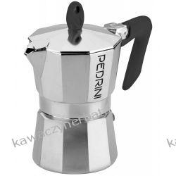 PEDRINI KAFFETTIERA BRILLIANT kawiarka aluminiowa 2/100ml Zaparzacze i kawiarki