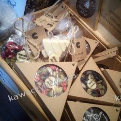 MEDALION ŚWIĄTECZNY czekoladowy CHOCOMANIA Słodycze i przekąski