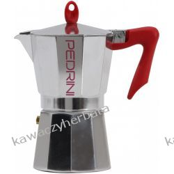 PEDRINI KAFFETTIERA kawiarka aluminiowa 3/150ml RTV i AGD