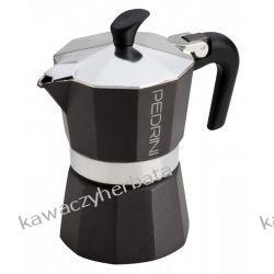 PEDRINI AROMA COLOR czarna aluminiowa 3/150ml Zaparzacze i kawiarki