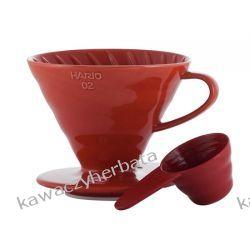 HARIO Drip V60-02 czerwony Kawy ziarniste