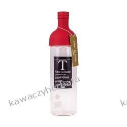 Hario butelka z filtrem Cold Brew Tea - czerwona 300 ml Yerba mate