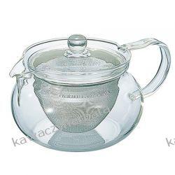 Hario Chacha Kyusu-Maru - Czajniczek do zaparzania herbaty 450ml Wyposażenie