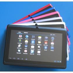 Allwinner A13 Q88 7cali Tablet PC Pojemnościowy Ekran Android 4.0 Kamera