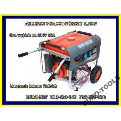 Generator AGREGAT Prądotwórczy 5500W 5,5kw  2x230V