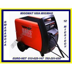SPAWARKA 180A MIGOMAT MIG/MAG MIGOMAT +GRATIS 230V