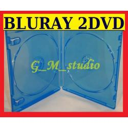 ETUI PUDEŁKO BLURAY na 2 PŁYTY DVD CD HQ FV GRATIS