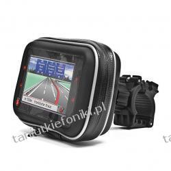 Uchwyt motocyklowy na nawigację GPS z etui 3.5''