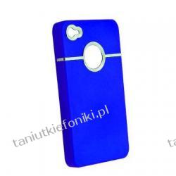 Etui Armor na iPhone 4/4S - niebieskie