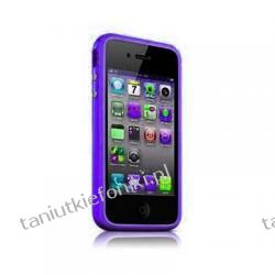 Opaska ochronna Bumper do iPhone 4/4S - fioletowa