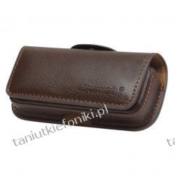 Kabura do telefonu Reserved N97 Mini, E75, N73 - Brąz