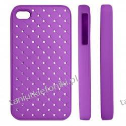 "HARD CASE ""ZIRCONIA"" iPhone 4/4s fioletowy"