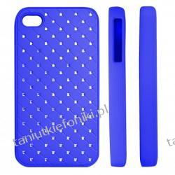 "HARD CASE ""ZIRCONIA"" iPhone 4/4s niebieski"