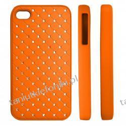 """HARD CASE """"ZIRCONIA"""" iPhone 4/4s pomarańczowy"""