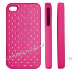 "HARD CASE ""ZIRCONIA"" iPhone 4/4s różowy"