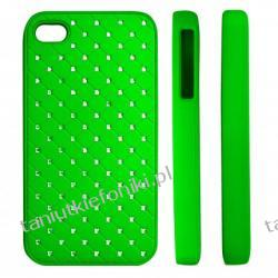"HARD CASE ""ZIRCONIA"" iPhone 4/4s zielony"