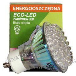 ECO-LED - żarówka GU10 48LED 120` ciepła 120lm