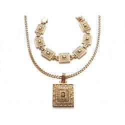 Zestaw biżuterii złotet próby 0,585