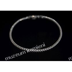 Srebrna bransoleta klasyczna B174 Kolczyki