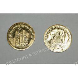 Moneta pamiątkowa z Muzeum Kamieni w Kamieniu Pomorskim POZ12 Kolczyki