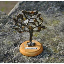 Drzewko z bursztynkami DBUR02 Wisiorki