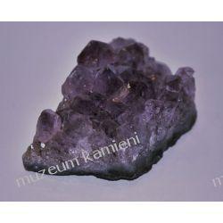 Ametysty - szczotka krystaliczna MIN43