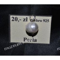 Urocza perełka - wisior w srebrze WA173