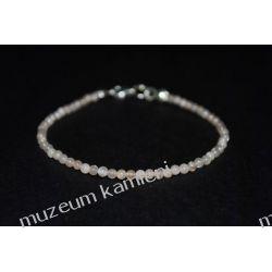 Piękna bransoletka z kamienia księżycowego B81 Naszyjniki