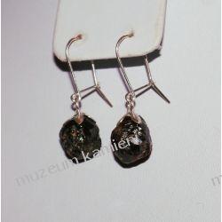 Kolczyki z granatu w srebrze KW018 Wisiorki