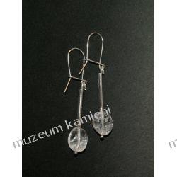 Kolczyki z kryształu górskiego KW072