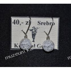 Kolczyki z kryształu górskiego KW106 minerały