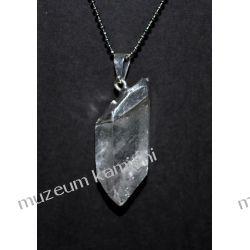 Niesamowity wisior z naturalnego kryształu górskiego W093 minerały