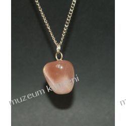 Kamień księżycowy - wisior W020 Biżuteria i Zegarki