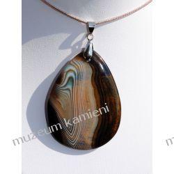 Piekny agat wisior W038 minerały