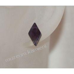 Kolczyki z ametystu w srebrze KWK021 Na rękę