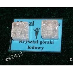Kolczyki z kryształu górskiego KWK013