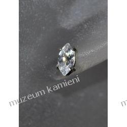 Wyjątkowo piękne kolczyki w srebrze KWK095 - cyrkonia Na rękę