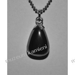 Hematyt - wisior w srebrze WA010 Biżuteria i Zegarki