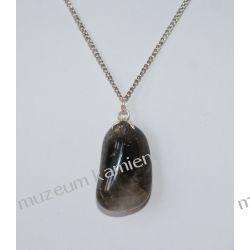 Kwarc dymny wisior w srebrze WA022 Biżuteria i Zegarki