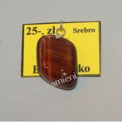 Bawole oko wisior w srebrze WA085 Biżuteria i Zegarki