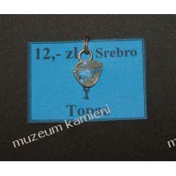 Topaz wisior w srebrze WA063 Biżuteria i Zegarki