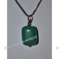 Piękny wisior z amazonitu w srebrze WA147 Biżuteria i Zegarki