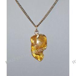 Wisior z bursztynu w srebrze WA006 Biżuteria i Zegarki