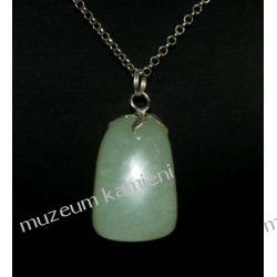 Piękny jadeitowy wisior w srebrze WA154 minerały