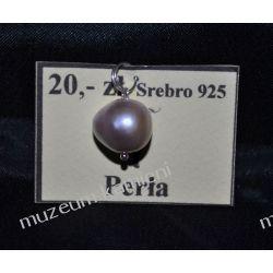 Perła - wisior w srebrze WA174 Naszyjniki