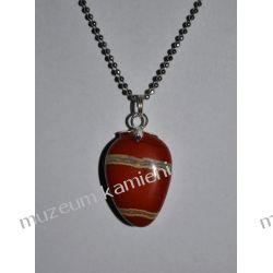 Piękny jaspis w srebrze WA126 Biżuteria i Zegarki