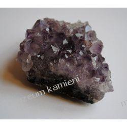 Ametyst szczotka krystaliczna MIN34 Wisiorki