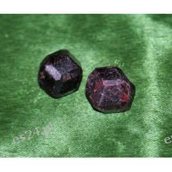Granat Almandyn MIN09 Kolczyki