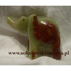 Słoń z onyksu OF02 Figurki i rzeźby