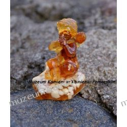 Aniołek z bursztynu FBUR05 Figurki i rzeźby